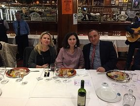 Friendly dinner in Barcelona - IBTM 2016